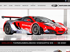 Screenshot von mattlook.com