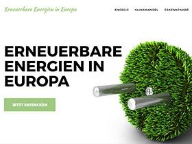 Screenshot of 'Erneuerbare Energien'